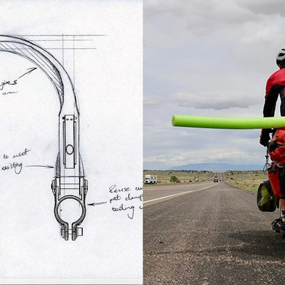 Product Designer vs. Graphic Designer's Approach to Bike Safety Device - Core77