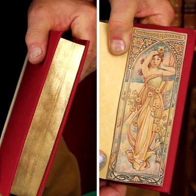 Fore-Edge Painting: The Art of Hiding Images on Page Edges - Core77
