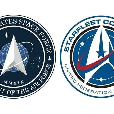 Surprise: The Space Force Logo is Not a Rip-Off of the Star Trek Logo - Core77