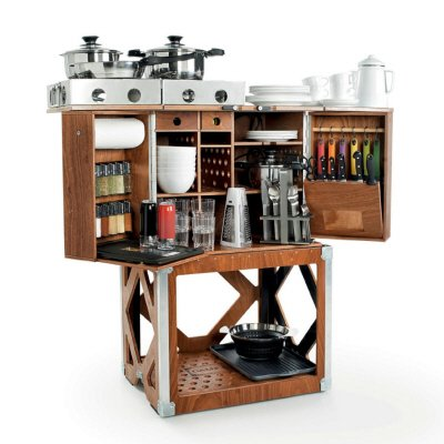 Nifty, Space-Saving Kitchen-in-a-Box - Core77
