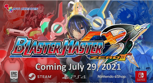 The Blaster Master Zero Trilogy Headed to Xbox in July | Core Xbox