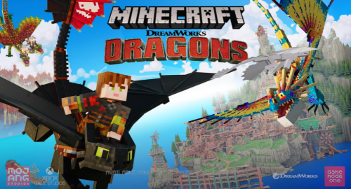 Minecraft Releases How to Train your Dragon DLC | Core Xbox