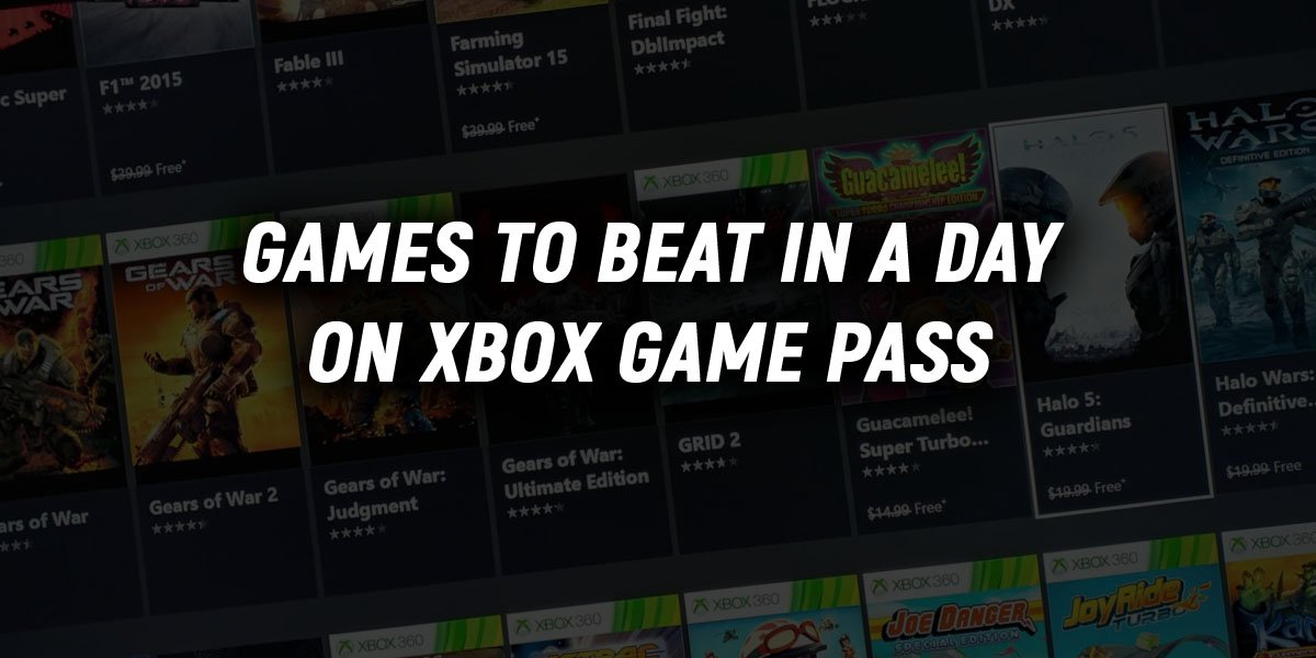 Best Short Games on Xbox Game Pass | Core Xbox