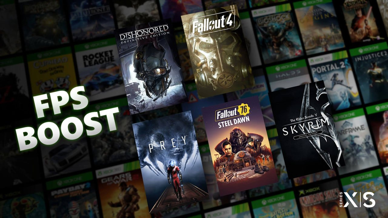 How to FPS boost on Xbox Series X consoles? Games list for boost