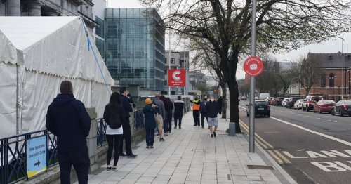 The four walk-in Covid-19 vaccine centres in Cork this weekend