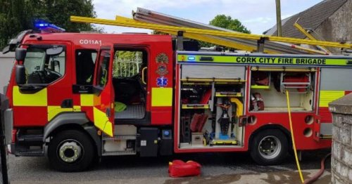 Emergency services called to fire at a farm just outside Cork city
