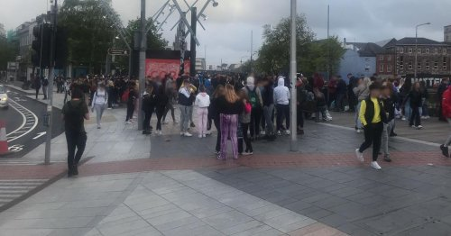 'Volatile' crowds descend on Cork City as Gardai make number of arrests
