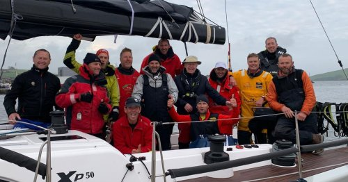 Kite-surfer rescued from desperate straits by Cork Yacht competing in big race