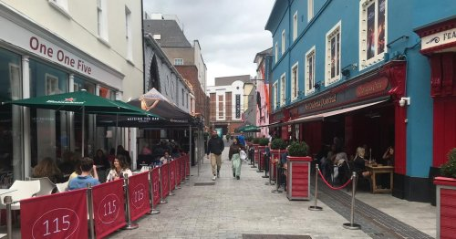 Some of Cork's pedestrianised streets are unrecognisable compared to 2019 pics