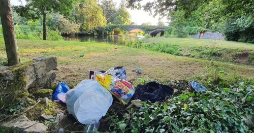 Gardai disappointed by dumping at Cork beauty spot