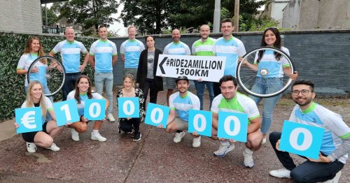 Cyclists set off on gruelling cycle to try raise €1 million for cancer research