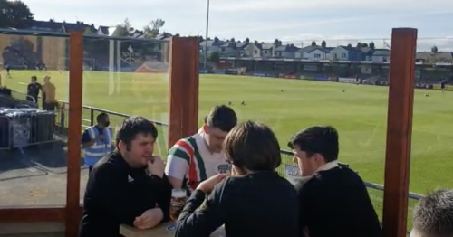 Class buzz as fans return to Turner's Cross with some getting beer garden view