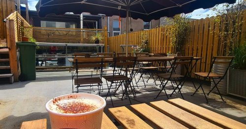 City coffee shop's rooftop garden looks like a class place to chill in the sun