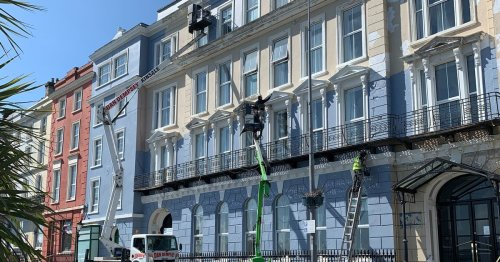 Historic Cork hotel gets a fresh coat as team gears up for big reopening