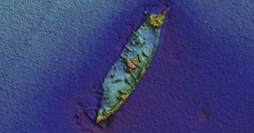 Amazing images of warship sunk in West Cork in 1796 show cannons still on board