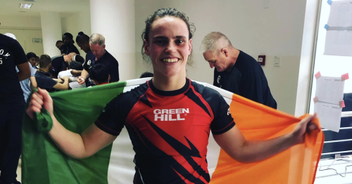 Watch Cork MMA fighter who is aiming for world titles following first pro win