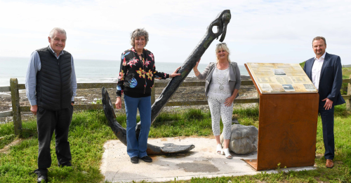 126-year-old anchor unveiled as Cork's latest maritime attraction