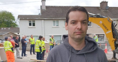 Family who woke to giant sinkhole in driveway go into emergency accommodation