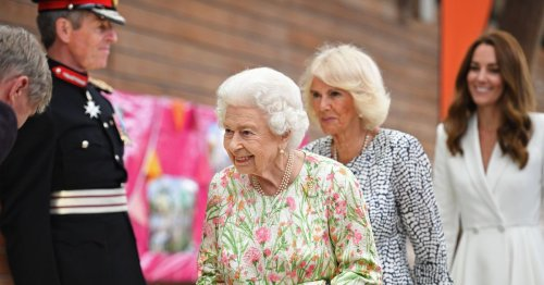 Lip reader tells of Camilla's sweet moment with Queen at Eden