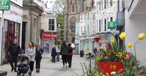 Town taken over by anti-social behaviour and begging is fighting back