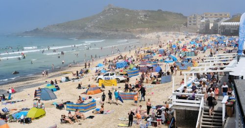 Cornwall is no longer top choice for Brits' summer hols