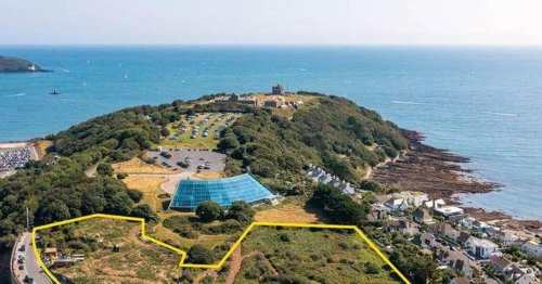 A patch of scrubland in Cornwall is on sale for £2 million