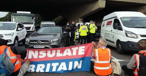 Arrested father and son have told why they blockaded M25