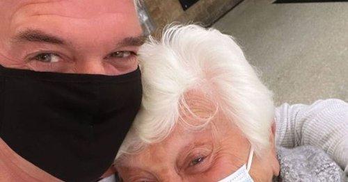 Phillip Schofield's tearjerking reunion with mum