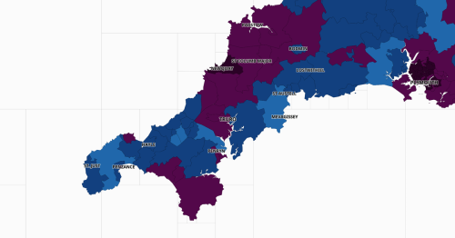 Newquay remains 'Covid capital' of Cornwall