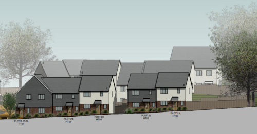 Town to get 47 affordable homes as site is too sloped for 50