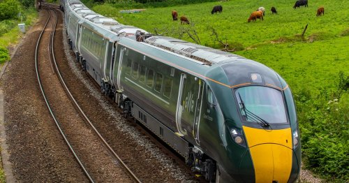 Cornwall needs train drivers and the salary is first class