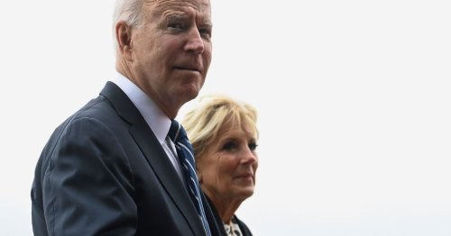 Biden in awe of Cornwall as he tells wife 'I could stand here forever'