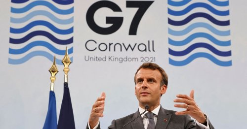 Macron thanks Cornwall for their hospitality and patience