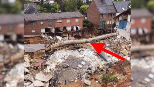 Hochwasser: Nein, mit diesem Rohr wird kein Bach unterirdisch umgeleitet – es handelt sich um ein Abwasserrohr
