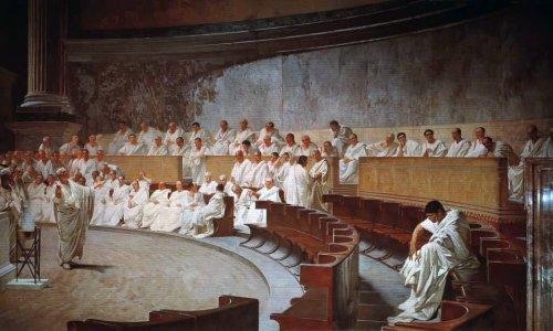 Text über Politiker, die auf Kosten aller anderen Menschen leben, stammt nicht von Cicero