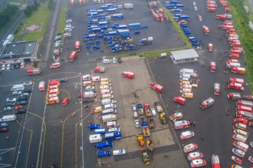 """Hochwasser: Nein, Rettungskräfte werden nicht am Nürburgring """"festgehalten"""" und am Helfen gehindert"""