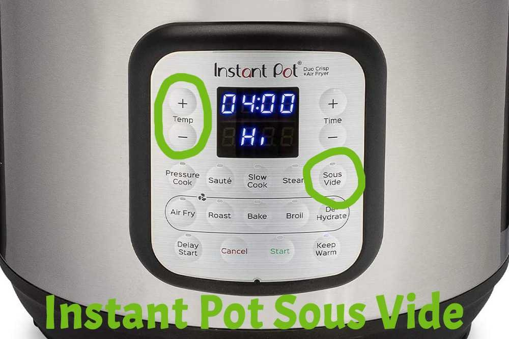 How To Sous Vide In Instant Pot