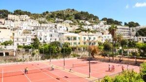 Tennis Club Capri, lo sport isolano