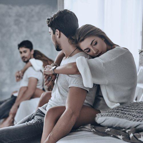 53 Prozent der Männer verzichten lieber auf ihre Partnerin als auf ...