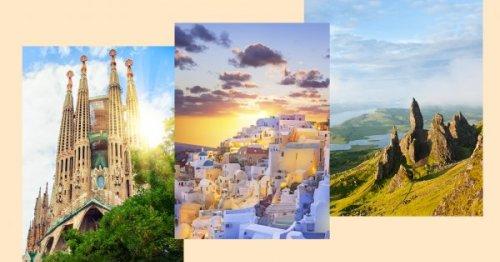 Les plus beaux lieux à voir une fois dans sa vie en Europe