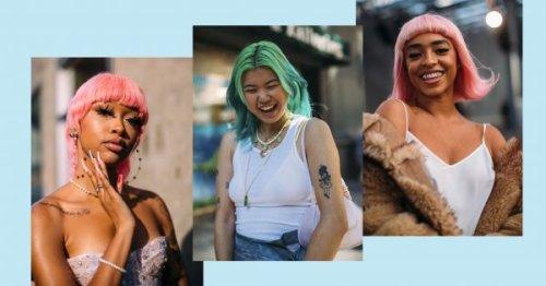 Les cheveux pastel, la tendance coloration à adopter