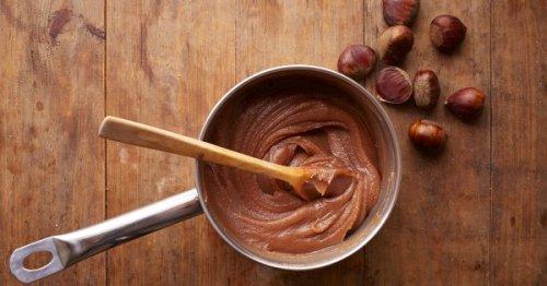 La recette de la crème de marron