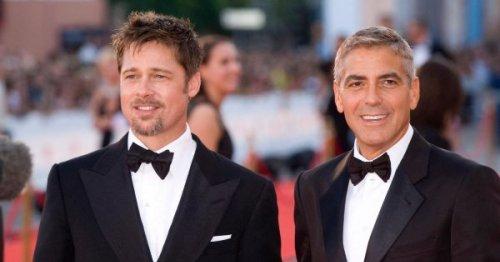 George Cloooney est fan de Brad Pitt dans une vidéo hilarante