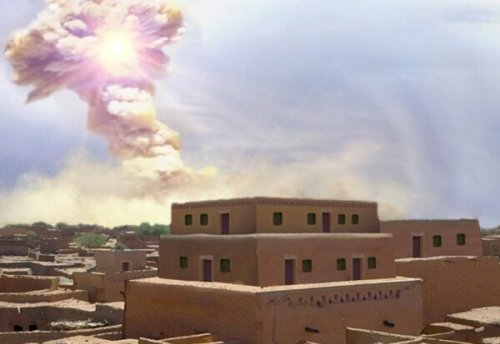 A cosmic meteor brought desolation to an ancient city – Did it inspire Sodom?