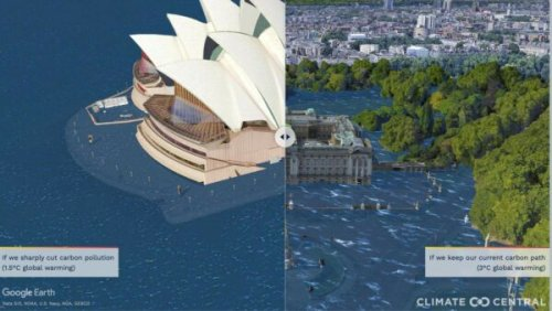 So long Sydney Opera House, bye bye Buckingham Palace
