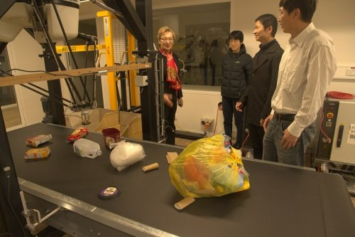 Robot can sort soft plastics for recycling