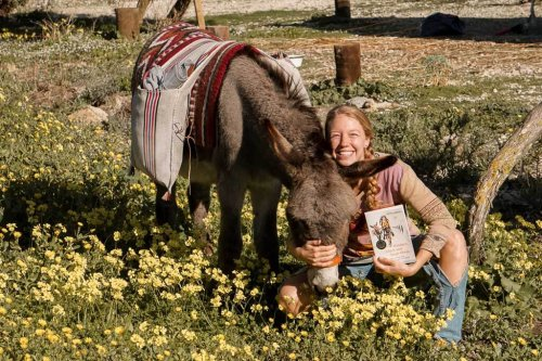 Wandern mit Esel Jonny - Interview mit Lotta Lubkoll - Couchflucht.de