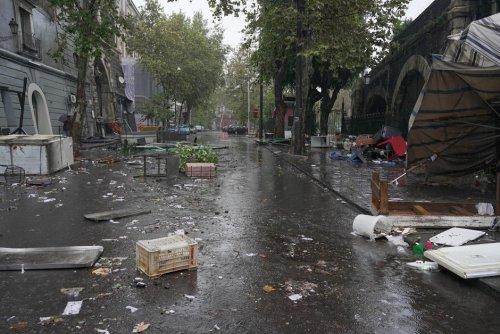 Vidéo. Inondations en Sicile : à Catane, des rues transformées en rivières