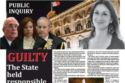 Enquête. À Malte, l'État tenu responsable du meurtre de la journaliste Daphne Caruana Galizia