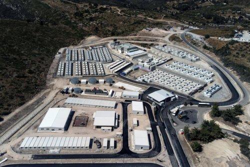 Asile. À Samos, un nouveau camp pour réfugiés aux allures de prison